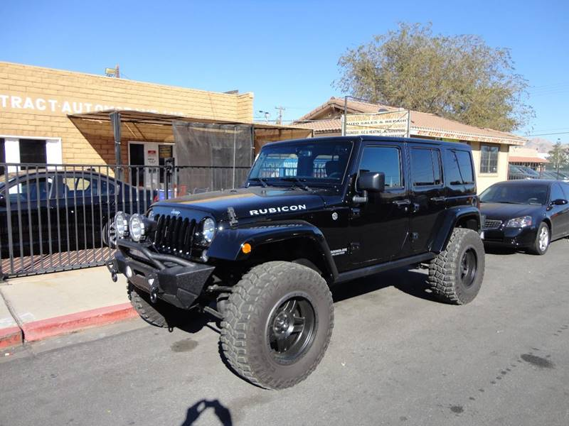 2016 Jeep Wrangler Unlimited 4x4 Rubicon Hard Rock 4dr SUV - Las Vegas NV