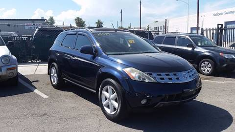 2003 Nissan Murano for sale at CONTRACT AUTOMOTIVE in Las Vegas NV