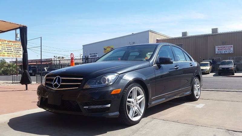 2012 Mercedes-Benz C-Class for sale at CONTRACT AUTOMOTIVE in Las Vegas NV
