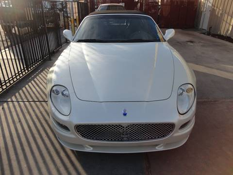 2006 Maserati GranSport for sale at CONTRACT AUTOMOTIVE in Las Vegas NV