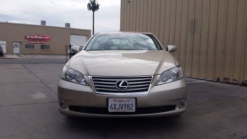 2012 Lexus ES 350 for sale at CONTRACT AUTOMOTIVE in Las Vegas NV