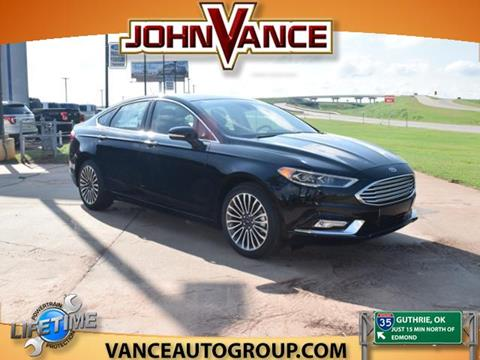 2017 Ford Fusion for sale in Guthrie, OK