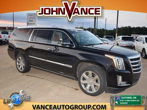 2016 Cadillac Escalade ESV for sale in Guthrie, OK