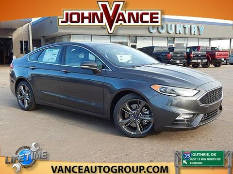 New Ford Fusion For Sale In Oklahoma