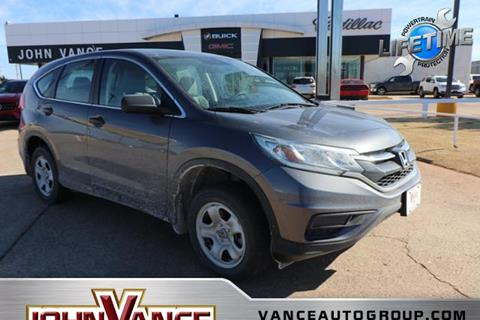 2015 Honda CR-V for sale in Guthrie, OK