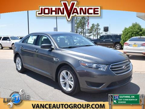 2016 Ford Taurus for sale in Guthrie, OK