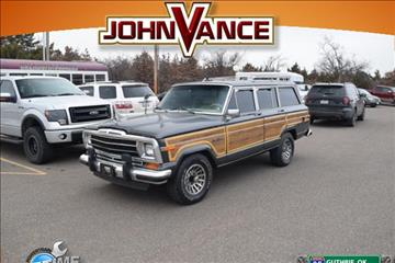 1989 Jeep Grand Wagoneer for sale in Guthrie, OK