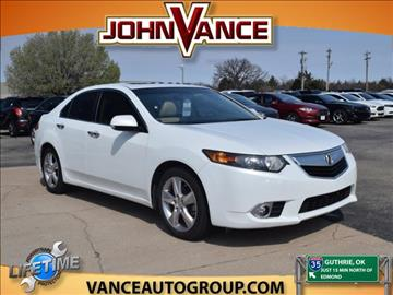 2012 Acura TSX for sale in Guthrie, OK