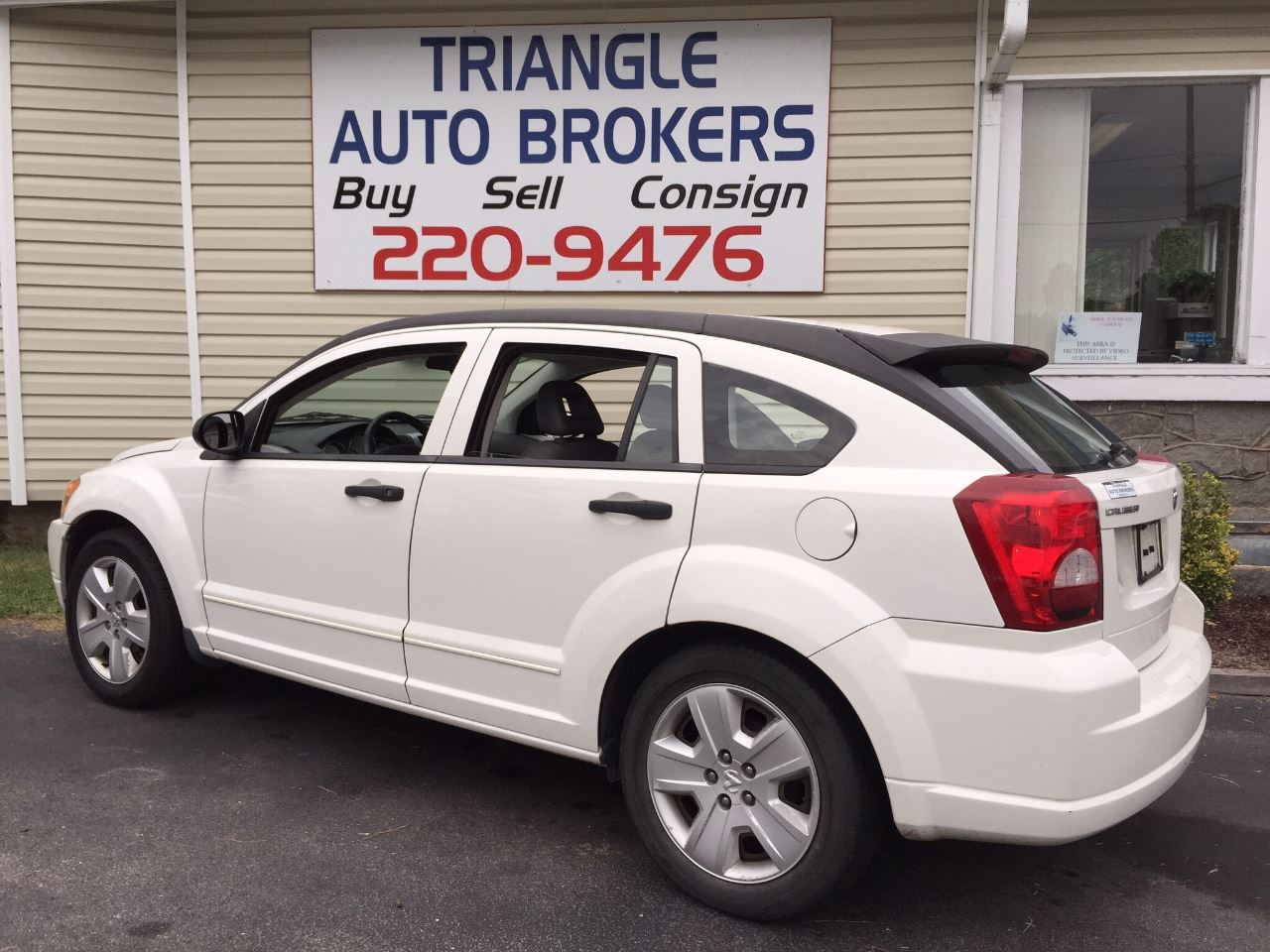 2007 dodge caliber sxt 4dr wagon in durham nc triangle auto brokers. Black Bedroom Furniture Sets. Home Design Ideas