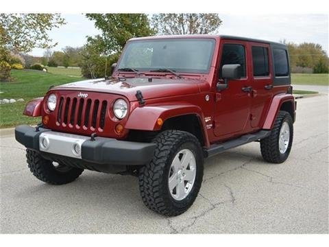 2012 Jeep Wrangler Unlimited for sale in Bucyrus, KS