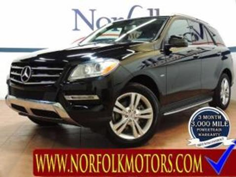 2012 Mercedes-Benz M-Class for sale in Commerce City, CO