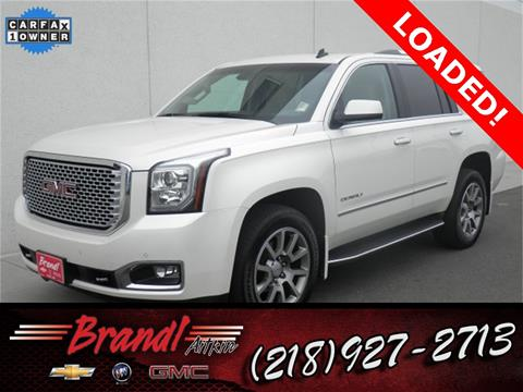 2015 GMC Yukon for sale in Aitkin, MN