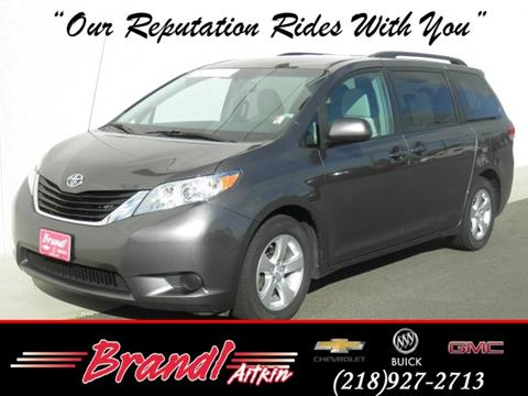 2013 Toyota Sienna for sale in Aitkin, MN