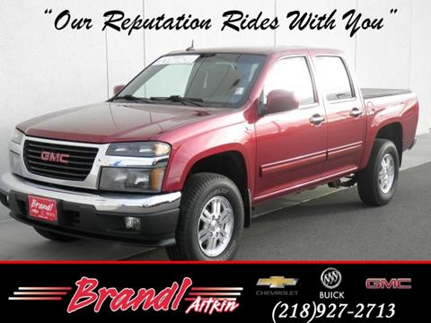 2011 GMC Canyon for sale in Aitkin, MN