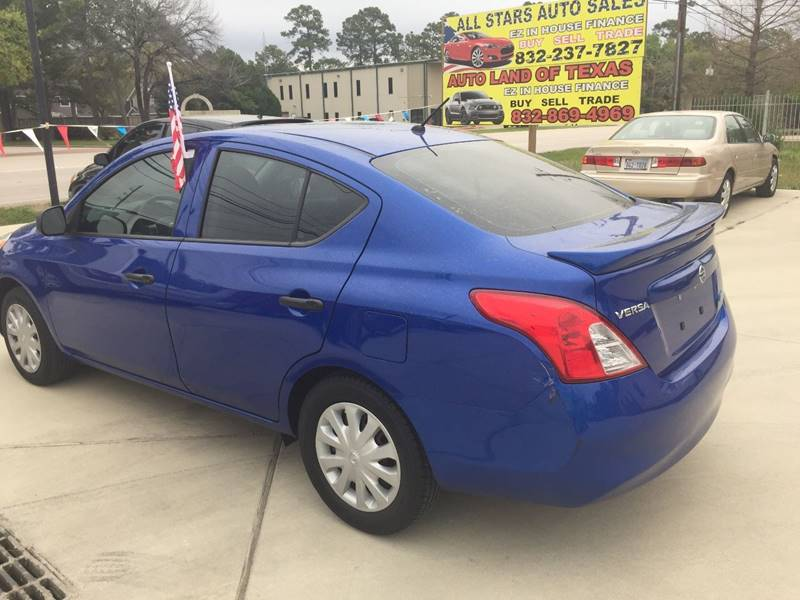 2014 Nissan Versa 1.6 S Plus 4dr Sedan - Cypress TX