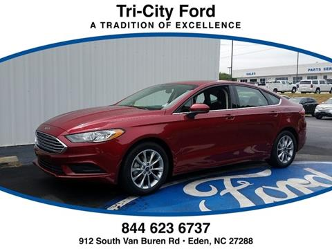 2017 Ford Fusion for sale in Eden NC