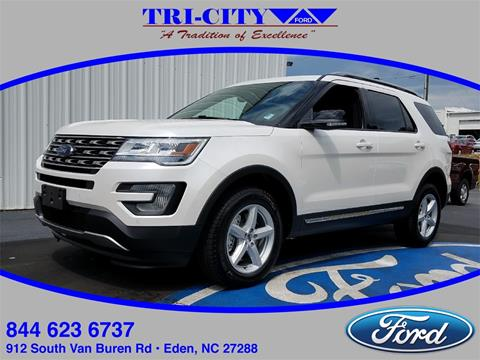 2017 Ford Explorer for sale in Eden, NC