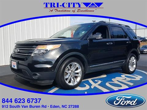 2014 Ford Explorer for sale in Eden, NC