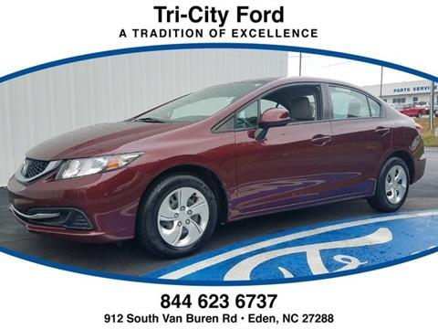 2013 Honda Civic for sale in Eden, NC
