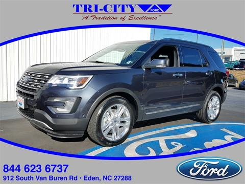 2017 Ford Explorer for sale in Eden NC