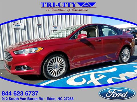 2016 Ford Fusion for sale in Eden NC