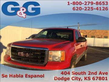 2007 GMC Sierra 1500 for sale in Dodge City, KS