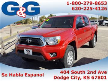 2012 Toyota Tacoma for sale in Dodge City, KS