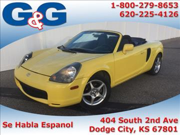 2001 Toyota MR2 Spyder for sale in Dodge City, KS