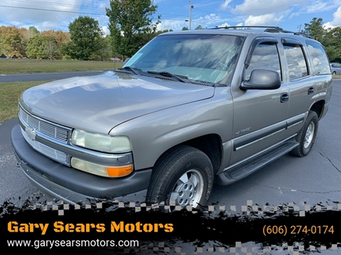 2002 Chevrolet Tahoe for sale in Somerset, KY