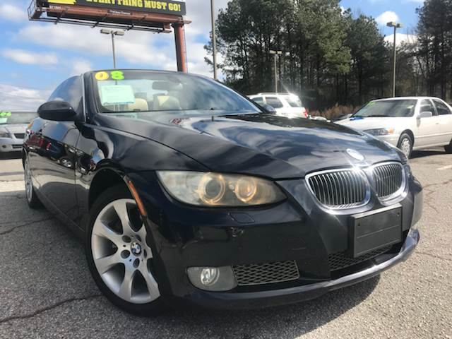 Bmw Series I Dr Convertible In Snellville GA South - 2008 bmw 3 series 335i convertible