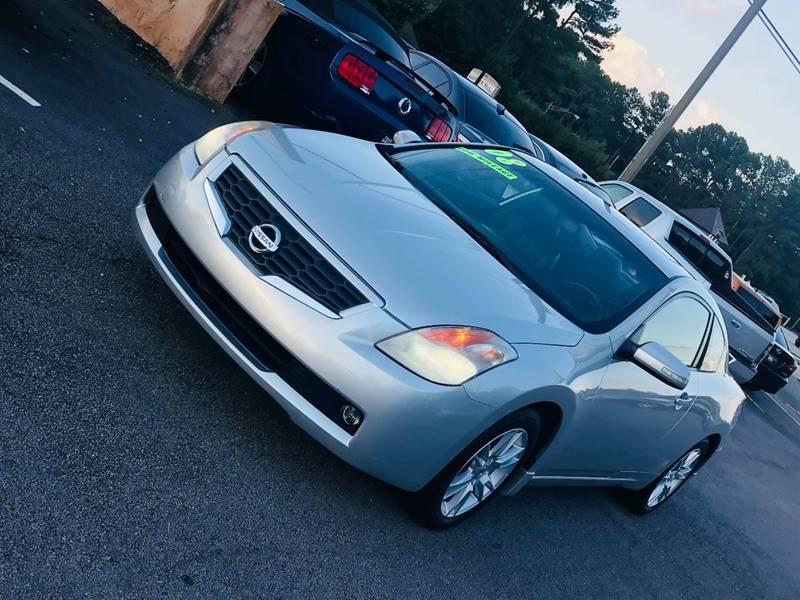 2008 Nissan Altima 3.5 SE 2dr Coupe 6M   Snellville GA
