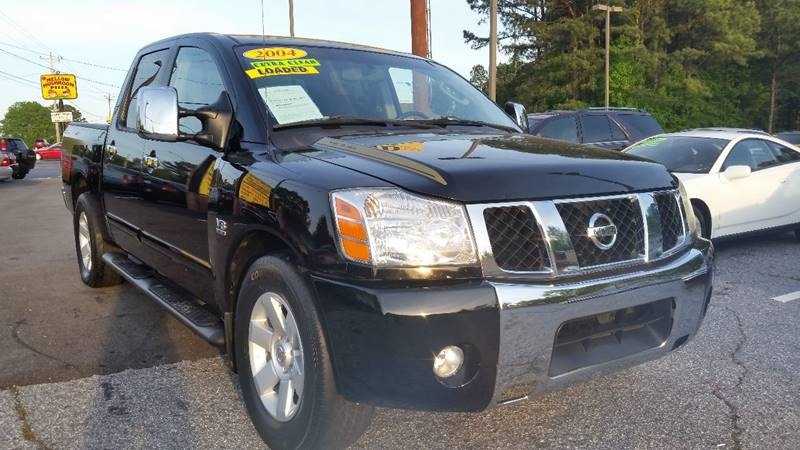 2004 Nissan Titan 4dr Crew Cab Xe Rwd Sb In Snellville Ga South