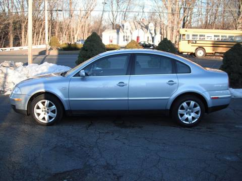 2003 Volkswagen Passat for sale at Russo's Auto Exchange LLC in Enfield CT
