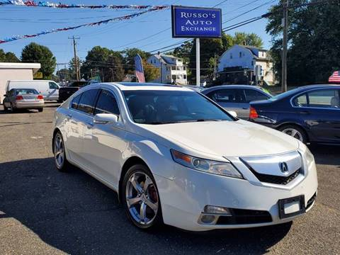 2009 Acura TL for sale at Russo's Auto Exchange LLC in Enfield CT
