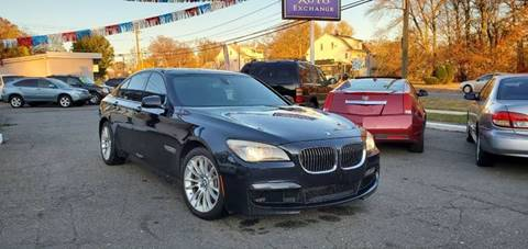 2012 BMW 7 Series for sale at Russo's Auto Exchange LLC in Enfield CT