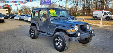 2001 Jeep Wrangler for sale at Russo's Auto Exchange LLC in Enfield CT