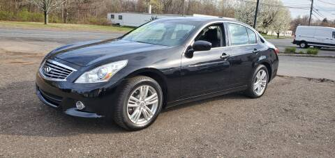 2011 Infiniti G25 Sedan for sale at Russo's Auto Exchange LLC in Enfield CT