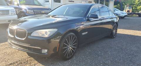 2011 BMW 7 Series for sale at Russo's Auto Exchange LLC in Enfield CT