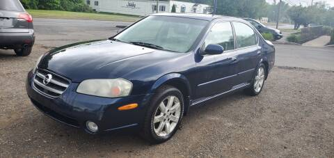 2002 Nissan Maxima for sale at Russo's Auto Exchange LLC in Enfield CT