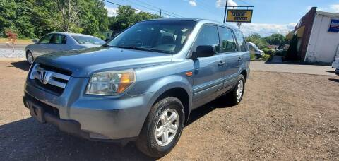 2006 Honda Pilot for sale at Russo's Auto Exchange LLC in Enfield CT