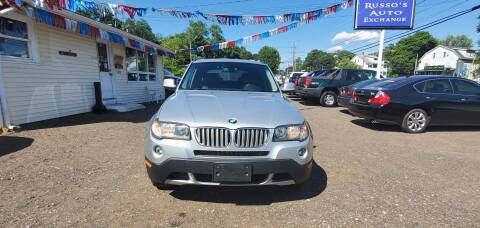 2010 BMW X3 for sale at Russo's Auto Exchange LLC in Enfield CT