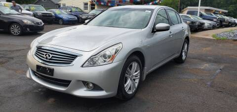 2012 Infiniti G37 Sedan for sale at Russo's Auto Exchange LLC in Enfield CT