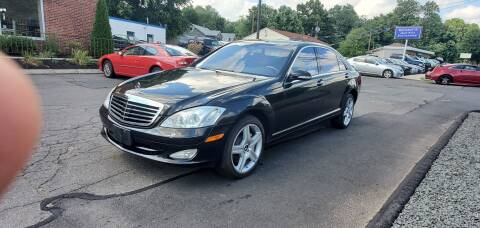 2008 Mercedes-Benz S-Class for sale at Russo's Auto Exchange LLC in Enfield CT