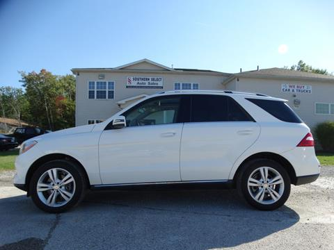 2015 Mercedes-Benz M-Class for sale at SOUTHERN SELECT AUTO SALES in Medina OH
