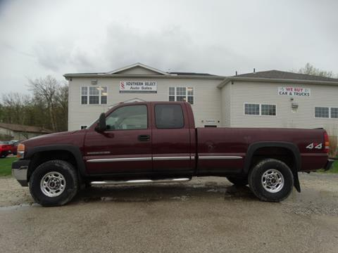 2002 GMC Sierra 2500HD for sale in Medina, OH