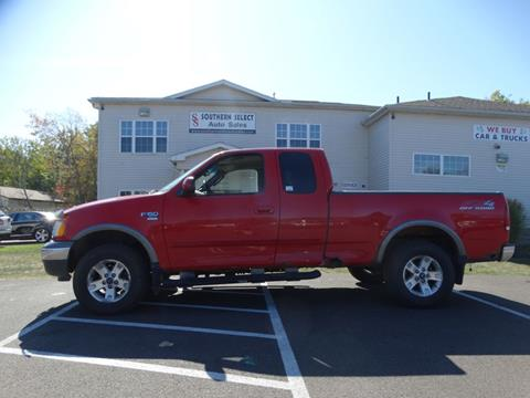 2002 Ford F-150 for sale at SOUTHERN SELECT AUTO SALES in Medina OH