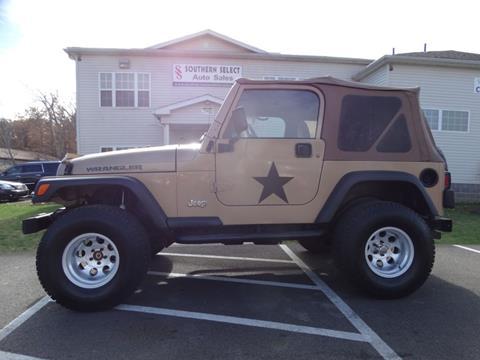 1999 Jeep Wrangler for sale in Medina, OH