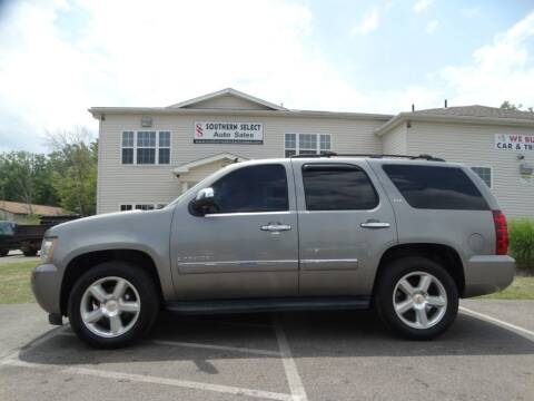 2009 Chevrolet Tahoe for sale at SOUTHERN SELECT AUTO SALES in Medina OH