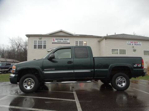 2004 GMC Sierra 2500HD for sale at SOUTHERN SELECT AUTO SALES in Medina OH