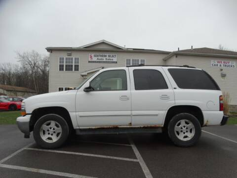 2006 Chevrolet Tahoe for sale at SOUTHERN SELECT AUTO SALES in Medina OH